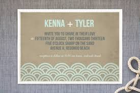 Beach Wedding Invitations Picture Of Likable Beach Wedding Invitations