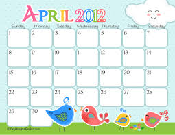 be different act normal 2012 printable calendars free