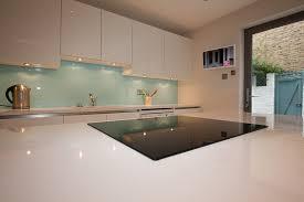 gloss white kitchen island