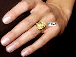 canary engagement ring engagement rings my take heidi klum lorraine