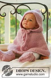 drops design poncho drops baby 16 1 free knitting patterns by drops