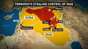 Map Of Iraq And Syria by U S Weighs Iraq Airstrikes Obama Says He Won U0027t Send Combat