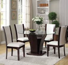 malik 5pc round dining set