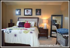 Sharing Bedroom With Baby Pampered Daughter Thrifty Wife Townhome Tour Master Bedroom