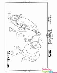 printable tangled coloring pages coloring