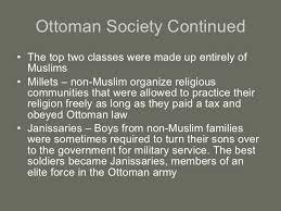 Ottoman Empire Government System The Ottoman Empire