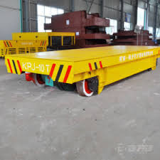 china cable reel powered electric transfer trailer for factory