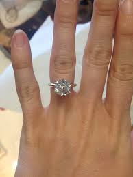 3 karat engagement ring calling all with a size 4 5 finger weddingbee