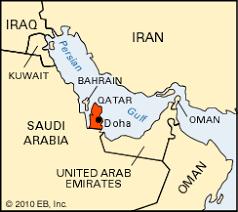 doha qatar map doha location students britannica homework help