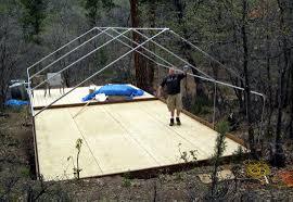 wall tent wall tent angle kit davis tent