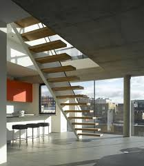 Free Standing Stairs Design I Cantilevered Stairs Cantilevered Wooden Stair With Solid