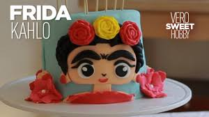 how to make a frida kahlo cake beautiful mexican themed cake