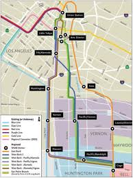 Valley Metro Light Rail Map by Metro Exploring New Options For West Santa Ana Branch Urbanize La