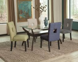 kitchen table glass top dining table set 6 chairs high top