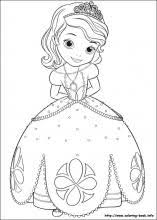 sofia the first coloring pages on coloring book info