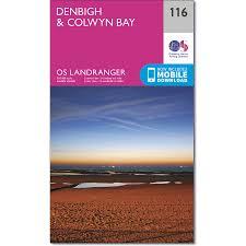 denbigh u0026 colwyn bay map os landranger 116 ordnance survey shop