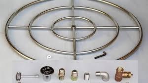 Gaslight Firepit Propane Pit Kit Pits Ideas Great Finishing Pit With