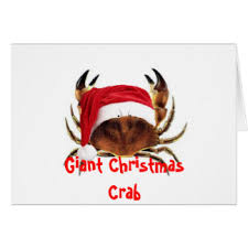 crab christmas cards invitations greeting u0026 photo cards zazzle