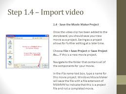 how to import and edit video clips in windows movie maker ppt