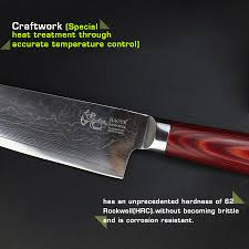vg10 kitchen knives haoye 2 piece damascus kitchen knives set japanese vg10 steel