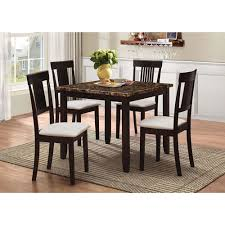 casual dining room sets transitional 5 casual dining table chair set