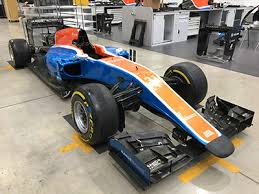 formula 1 car for sale manor f1 auction gordon brothers