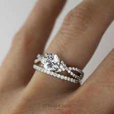 with wedding rings best 25 twisted wedding bands ideas on diamond