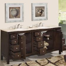 72 perfecta pa 5126 bathroom vanity double sink cabinet dark