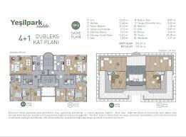 Floor Plan Salon by Floor Plans Yapı Merkezi Real Estate Group