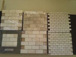 Here Is The New House August - Lowes tile backsplash
