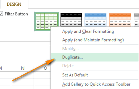 Change Table Style How To Highlight Every Other Row Or Column In Excel To Alternate