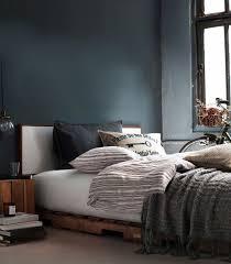 chambre gris bleu du bleu dans ma déco frenchy fancy