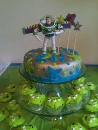 buzz light cake alien cupcakes toy story cynthia u0027s