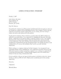 Cover Letter Internship Graduate   Professional Cover Letter Example Alib