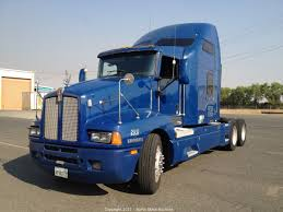 kenworth tractor trailer north state auctions bank repo sale of 2002 kenworth semi tractor