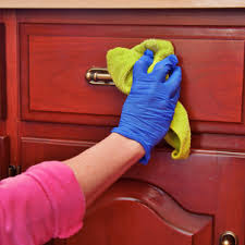 How To Clean Wood Cabinets Merry Maids - Cleaning kitchen wood cabinets