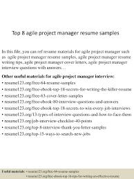 sorority resume example datastage resumes on experience free resume example and writing agile scrum master resume sample vosvetenet top8agileprojectmanagerresumesamples 150514062402 lva1 app6891 thumbnail 4 agile scrum master resume