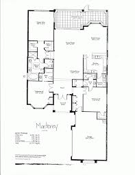 one story house plans with two master suites baby nursery single story luxury house plans one story floor