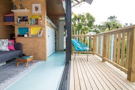 Tiny House Deck by The Nest Tiny House New Zealand U0027s First Consented Th U2014 Tiny House