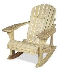Composite Adirondack Rocking Chairs Bowland Outdoor Garden Patio Wooden Adirondack Rocker Rocking