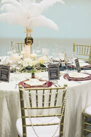 great gatsby centerpieces the great gatsby theme featured in blissful brides magazine