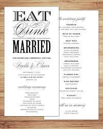 exle of wedding programs wedding program free printable wedding program templates