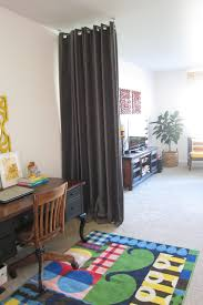 How To Build A Dividing Wall In A Room - interior curtain room dividers how to divide a room with