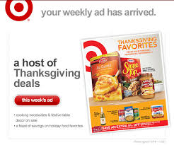 bloomingdale target black friday ad heads up more thanksgiving grocery deals on target u0027s online ad