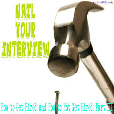 how to nail an interview the nail collections