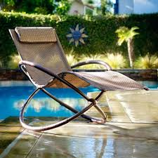 Anti Gravity Rocking Chair by Belleze Zero Gravity Orbital Lounger Rocking Chair Outdoor Louis