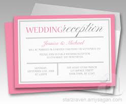 wedding reception invitations modern pink and gray wedding reception invitations 2017 the year