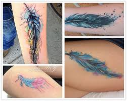 29 feather tattoo images pictures and latest ideas