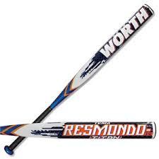worth resmondo worth resmondo titan slowpitch softball bats usssa baseball