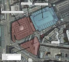 transforming smithfield market map of the west smithfield buildings the new museum of london will occupy